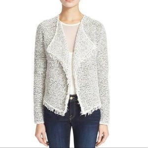 Joie long-sleeve textural mix yarn cardigan